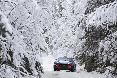 Hyundai Motorsport laddar för revansch i Rally Sweden