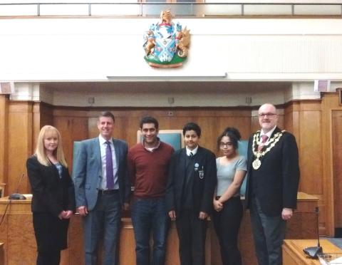 Prestwich wins vote of confidence in UK Youth Parliament