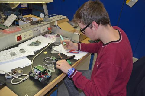 Schülerlabore der TH Wildau unterstützen Brandenburger Schülergruppen bei innovativen Ideen im naturwissenschaftlich-technischen Bereich