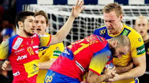 EM-finalrepris i Malmö Arena när Sverige möter Spanien i EHF Euro Cup!