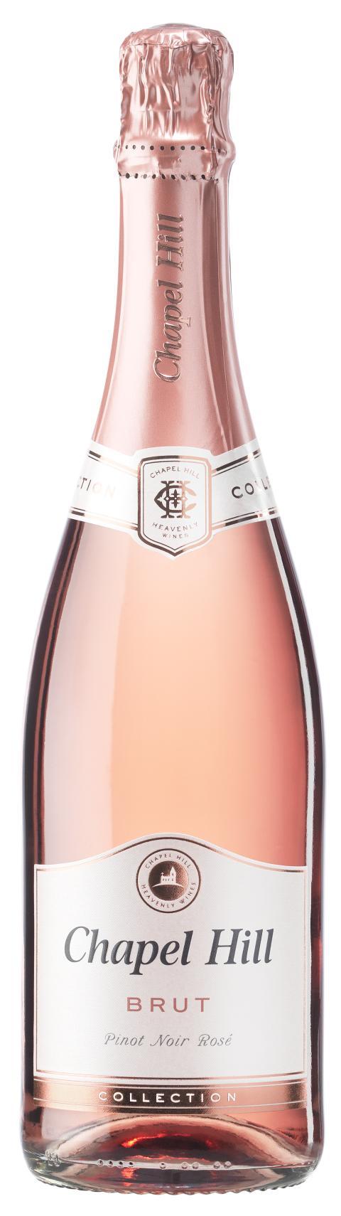 Chapel Hill Brut Pinot Noir Rosé relanseras i ny design