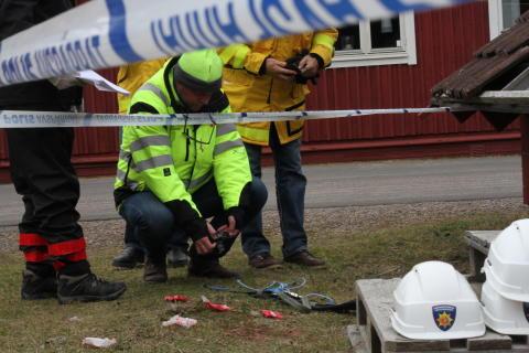 Olycksutredning grund 15 085