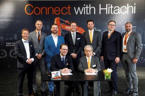 ABAX blir partner med Hitachi och levererar komplett IoT-lösning till bygg- och entreprenadbranschen