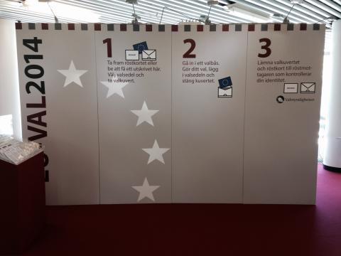Höj din röst! Förtidsröstning till EU-valet i Malmö 7-25/5