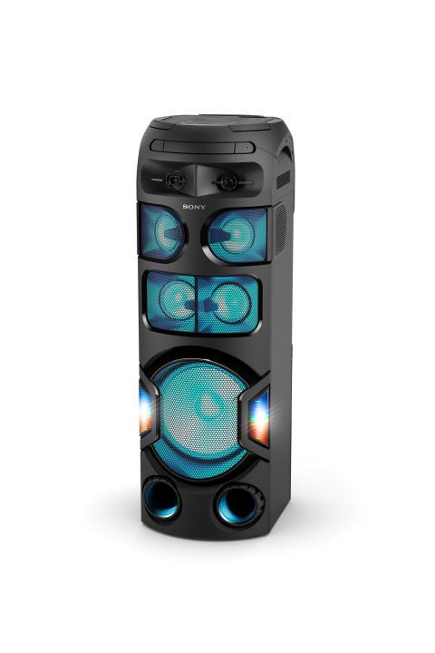 Der Star an der Tanzfläche: die neuen High Power Audio Produkte von Sony