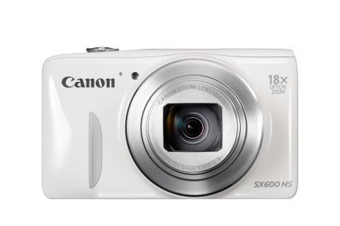 PowerShot SX600 WHITE FRT