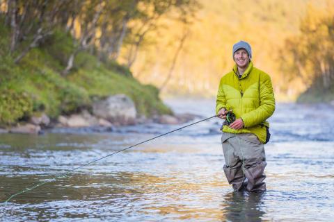 Fishing Funäsfjällen