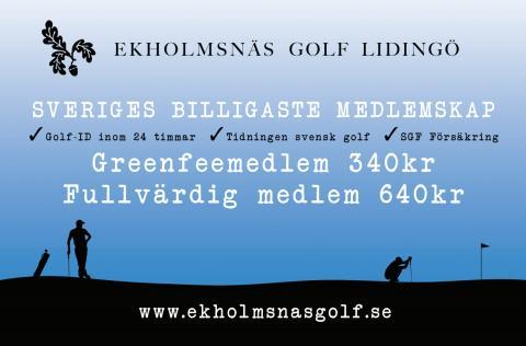 Stockholms mest prisvärda golfmedlemskap!