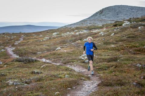 Sondre Amdahl, en av Norges beste ultraløpere.