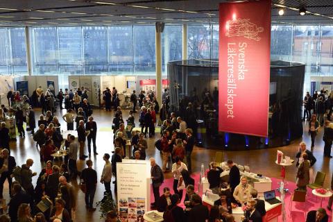 Svenska Läkaresällskapet diskuterar hälso- och sjukvårdsfrågor på nya arenor