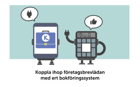 Snart lanseras Kivras integrationstjänst - Fortnox först ut att erbjuda företag att bli mer digitala