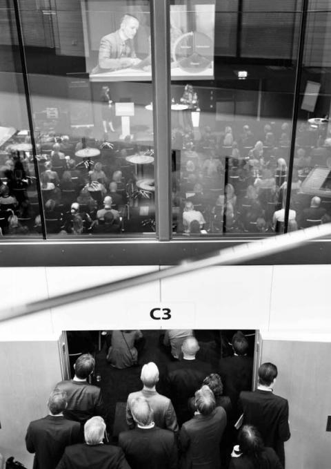 Vi gläder oss åt att så många har valt att gå på Business Arena Stockholm!