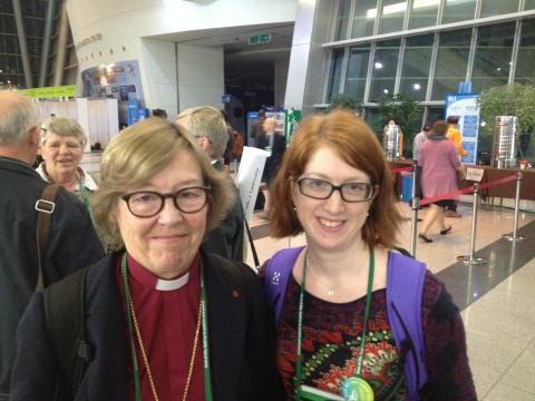 Eva Brunne takes up a leadership position in the World Council of Churches