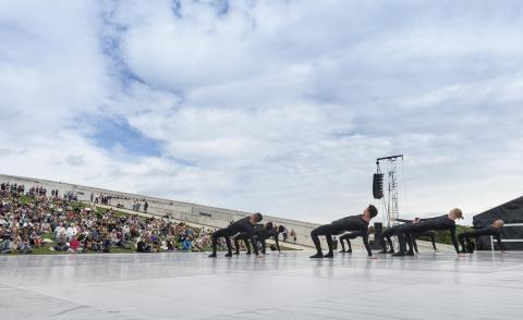 Dansk Danseteater på Moesgaard pressefoto Moesgaard Museum