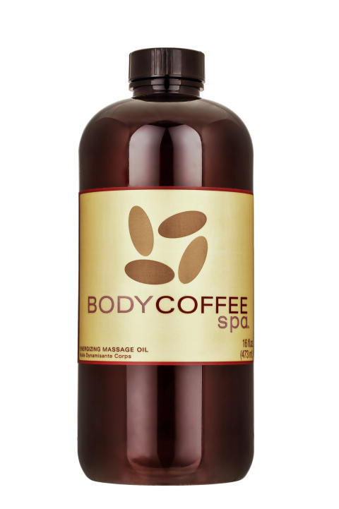 BodyCoffee Energizing Massage oil