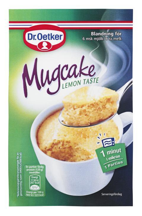 Mugcake Lemon