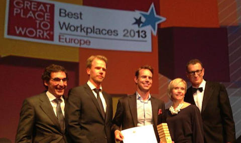 Tenant & Partner i topp bland Europas bästa arbetsplatser