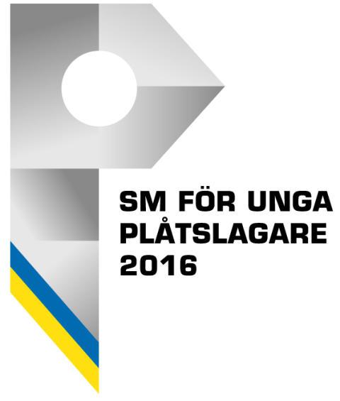 SM för unga plåtslagare 2016, logo