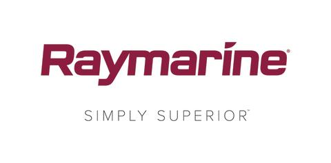 High res image - Raymarine - New logo with simply superior tagline