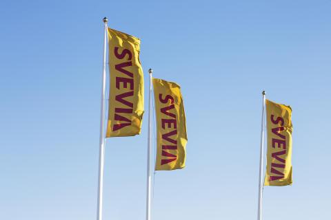 Svevias flagga - foto - Svante Örnberg