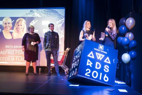 Snowboardawards 2016 æresprisen
