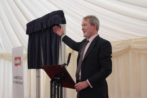 Owen Paterson Giving His Speech