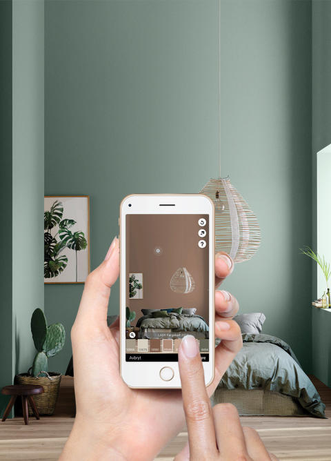 ATT VÄLJA FÄRG TILL DITT HEM HAR ALDRIG VARIT ENKLARE - Jotun lanserar appen ColourDesign