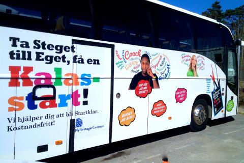 Framgångsrikt Starta Eget-koncept kommer till Luleå i morgon, tisdag 26 april