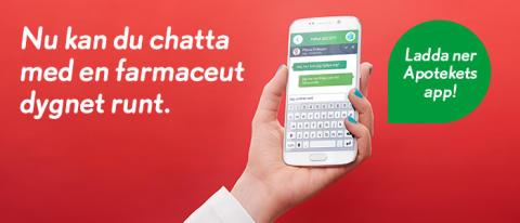 En av tre söker information om läkemedel på egen hand – Apoteket lanserar dygnet-runt chatt