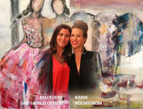 Kärt återseende med KarMa Art på Galleri Ulfsunda