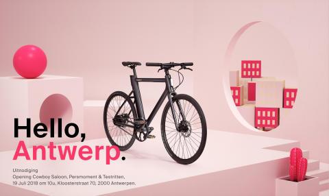 PERSUITNODIGING : Cowboy wil meer Antwerpenaren op de fiets en opent een eigen pop-up saloon