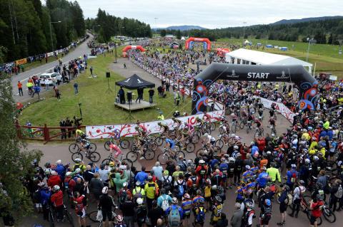 CykelVasan ökade med 63 procent