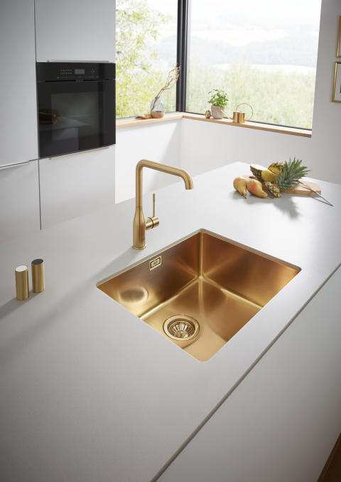GROHE Kitchen Colors Brushed Cool Sunrise