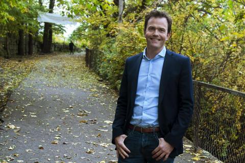 Daglig leder Marius Holm i Miljøstiftelsen Zero