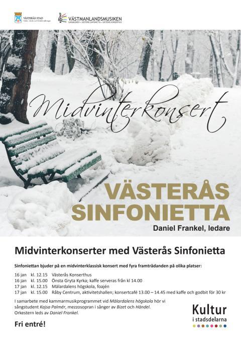 Midvinterkonsert med Sinfoniettan - affisch