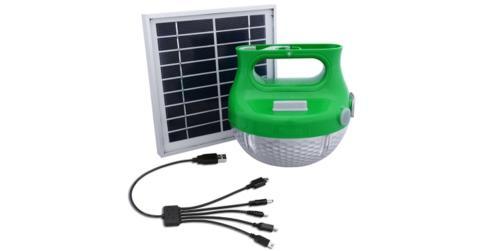 Smart solcellelampe er den perfekte ledsager til udeliv og arbejde væk fra el-nettet