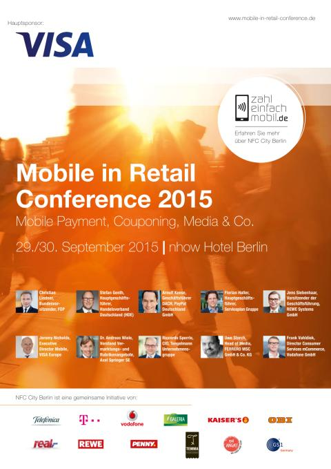 Mobile in Retail Conference 2015, Programm