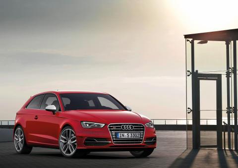Premiär för nya Audi S3