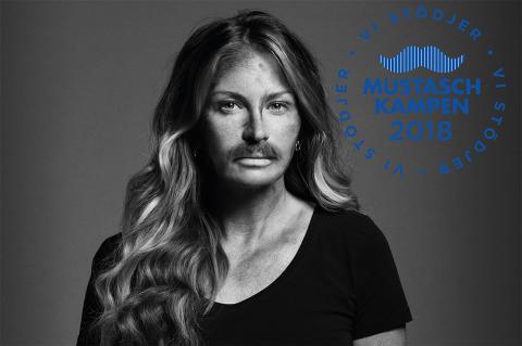 Scorettgruppen stödjer Mustaschkampen 2018