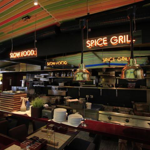 Neonskylt Restaurang kungsholmen