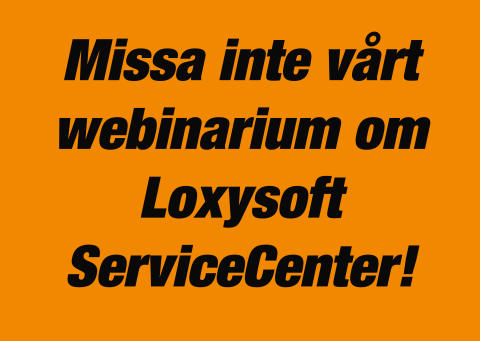 Webinarium om Loxysoft ServiceCenter