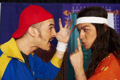 Nadin Al khalidi och Gabiel Hermansson