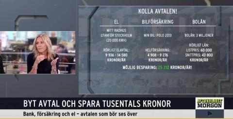 Såhär sparar ekonomen på att jämföra sina avtal - hos Aftonbladet TV