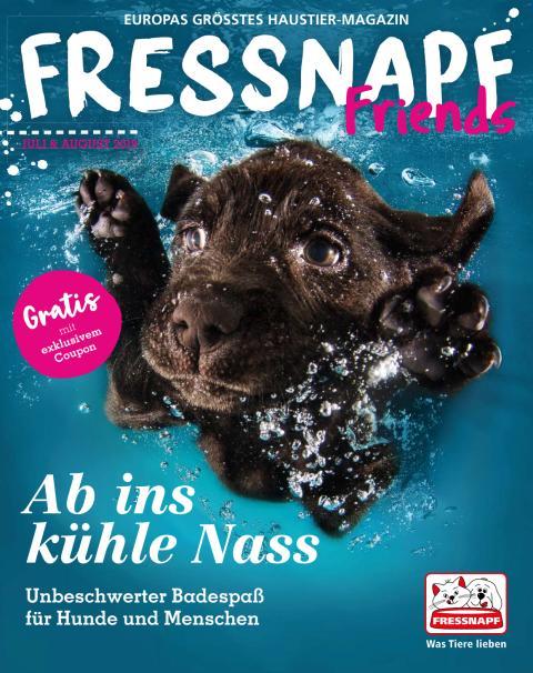 Die aktuelle Ausgabe der FRESSNAPF Friends auch hier zum Nachlesen