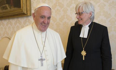 Påve Franciskus till Lund när katoliker och lutheraner uppmärksammar reformationen
