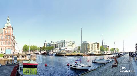 Hotell och nya bostäder lyfter Landskrona