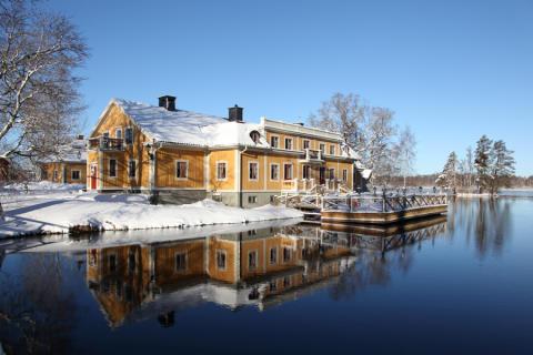 Vinter på Dufweholms Herrgård