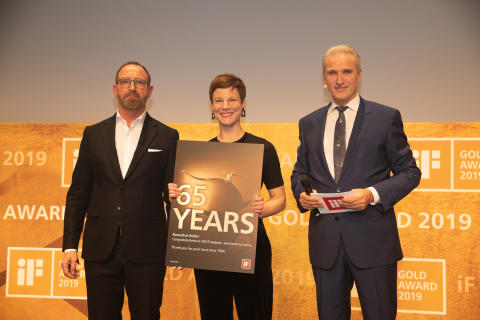 """iF Preisträger der """"ersten Stunde"""": Rosenthal GmbH für 65 Jahre Treue geehrt"""