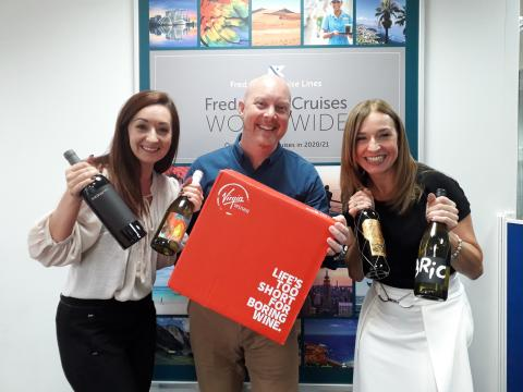 'Fred. Olsen's On the Case'! Travel agents to receive FREE case of wine for bookings in 'Save £100 per person' campaign, valid on almost every August and September 2019 sailing