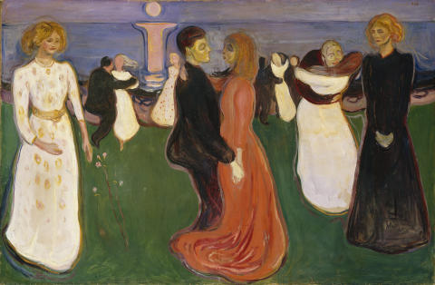 Livets dans. Edvard Munch: Livets dans, 1899-1900